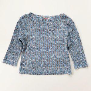 Roxy Blue Multicolored Top